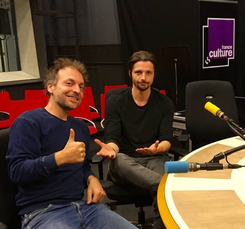 Mathieu Boogaerts & Raphaël Personnaz