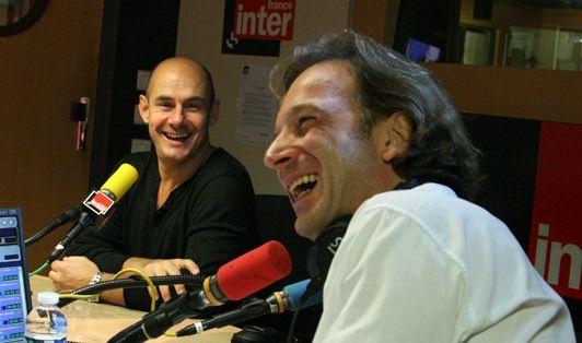 Barnard Campan et François Busnel
