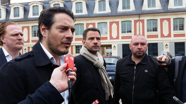 Jérôme Kerviel et son avocat, David Koubbi