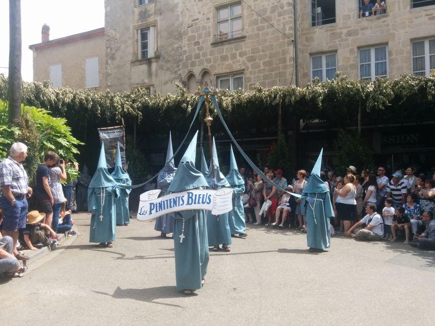 La confrérie des Pénitents Bleues fut en activité du XVIIe au XIXe siècle.