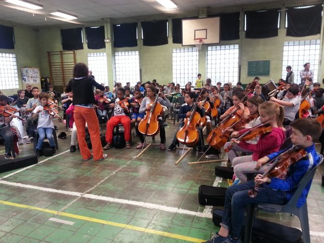 Répétition de l'orchestre El Camino
