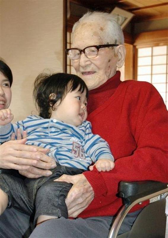 le japonais jiroemon kimura, doyen de l'humanité, meurt à 116 ans