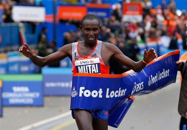 le kényan mutai remporte à nouveau le marathon de new york