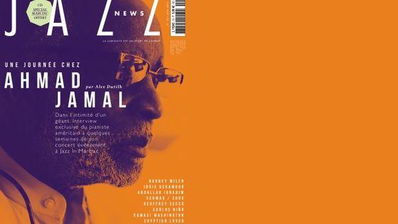 Couverture Jazz News de juin 2016