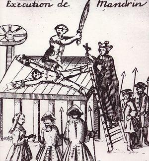 L'éxecution de Mandrin à Valence