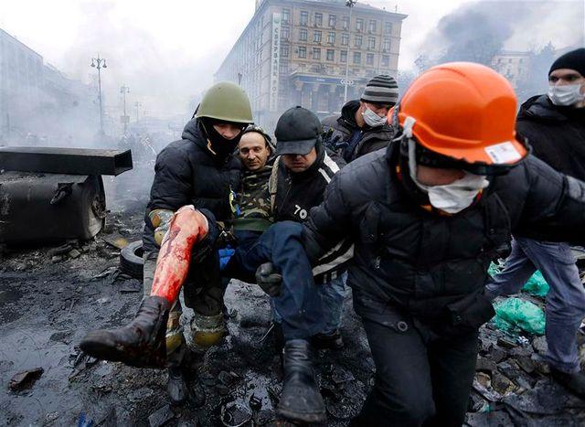 les violences continuent à kiev
