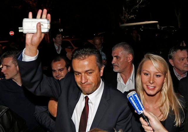 le fn remporte l'élection cantonale à brignoles