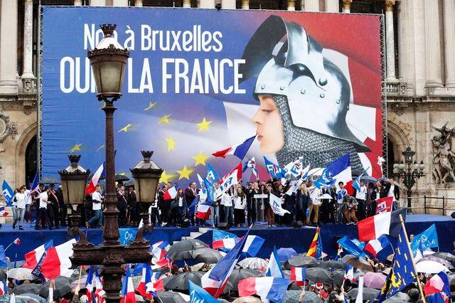 le fn appelle à dénoncer l'union européenne le 25 mai