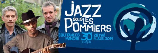 Jacques Gamblin & Laurent de Wilde, encadrant Eric Bibb