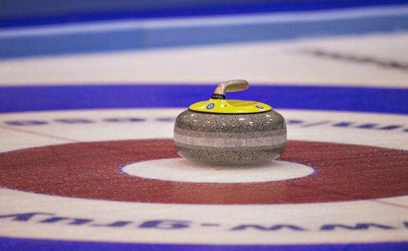 Une pierre de Curling