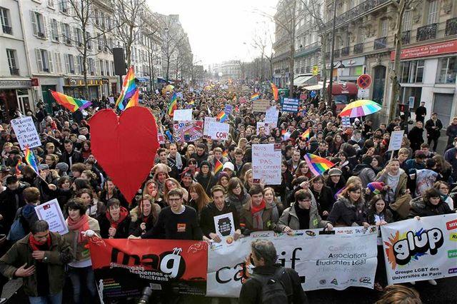 les partisans du mariage homosexuel mobilisent