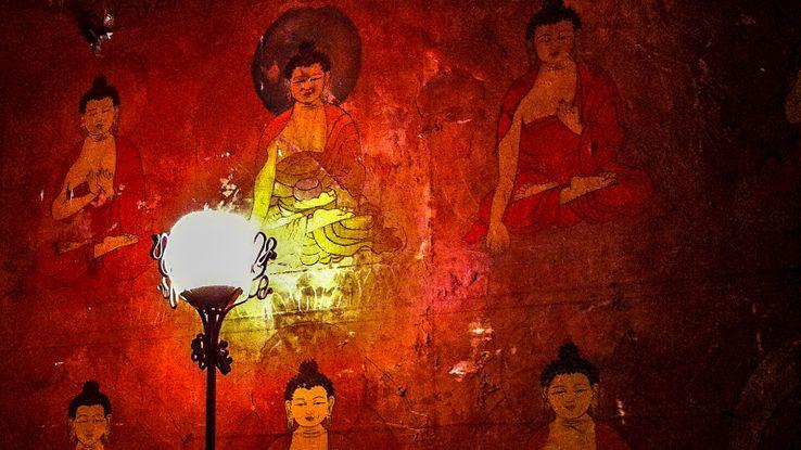 Sur les murs du Théâtre du Soleil