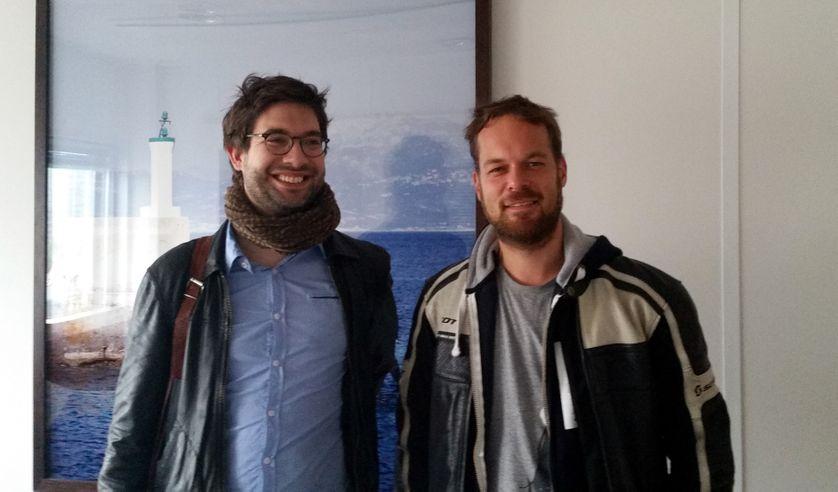 Anthony Feneuil et Yann Schmitt