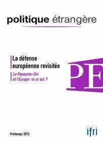 Politique étrangère n°1/2015