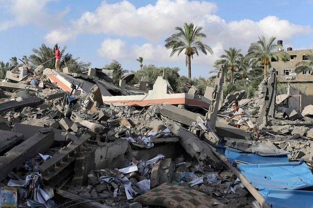 septième jour de l'offensive israélienne à gaza