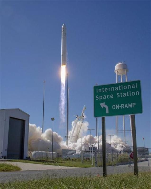 vol test vers l'iss réussi pour le vaisseau cygnus