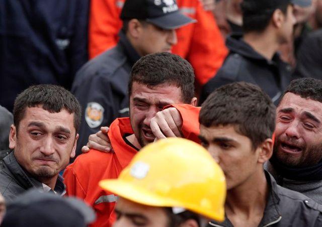 plus de 200 morts dans une mine de charbon en turquie