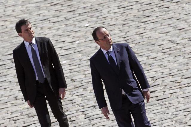 françois hollande et manuel valls au défi du rebond post-européennes