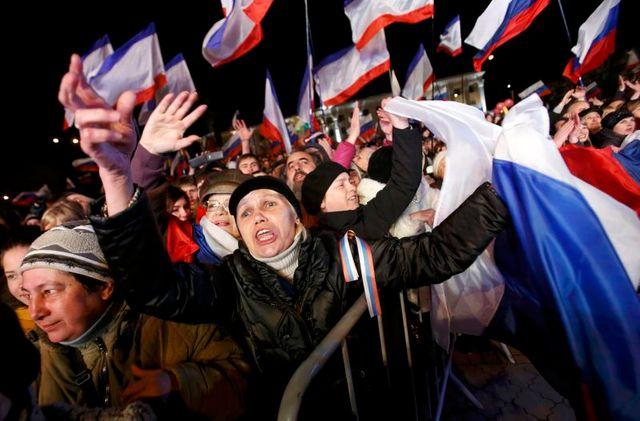la crimée dit un oui massif à la russie, selon la presse