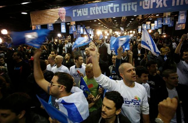le likoud en tête en israël mais affaibli par la percée du centre gauche
