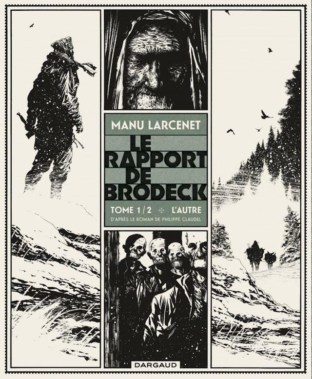 """Couverture de """"Le Rapport de Brodeck"""""""