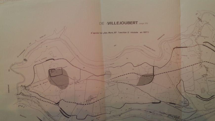 Seule une carte permet désormais de voir l'étendue de l'oppidum.