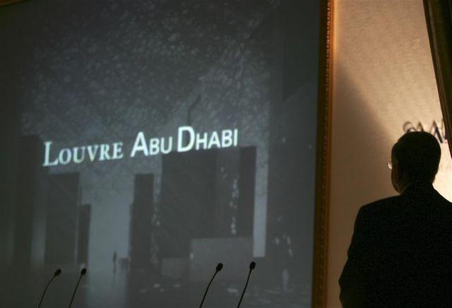 la construction du louvre abou dhabi confiée à une firme de dubai
