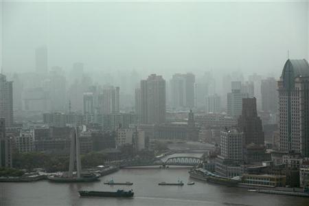la pollution atmosphérique en asie freine le réchauffement