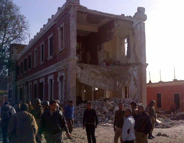un bâtiment des services de renseignement égyptiens pris pour cible dans le delta du nil