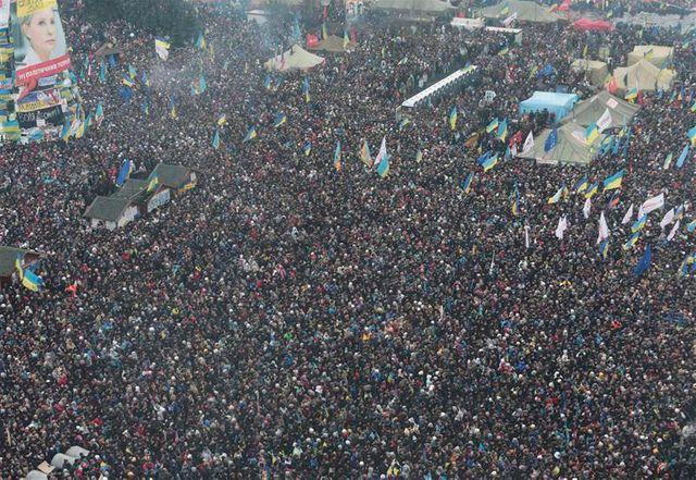 manifestation des pro-européens à kiev