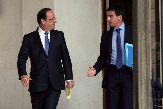 l'exécutif face à la victoire du fn aux européennes