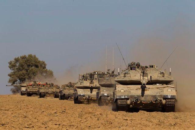 offensive terrestre israélienne à gaza