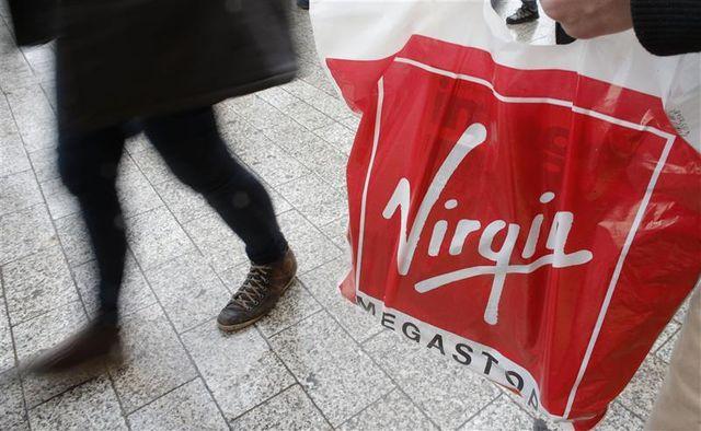 placement en redressement judiciaire pour virgin megastore