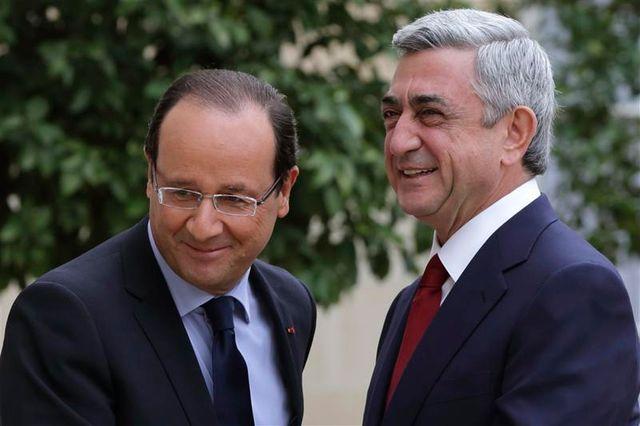 la france pourrait développer ses relations économiques avec l'arménie
