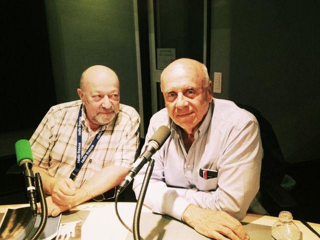 Ralph Gibson et Michel Zlotowski qui traduit ses propos © Fanny Leroy