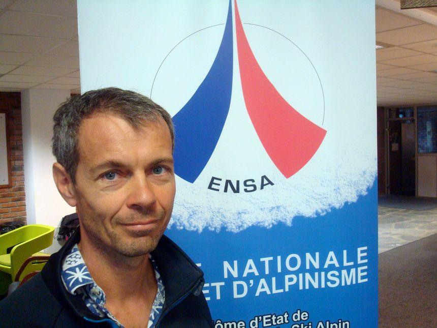 Alexis Mallon, responsable de la formation des guides à l'ENSA jusqu'en février 2016