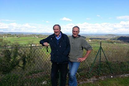Christian Signol (à gauche) et Denis Cheissoux (à droite)