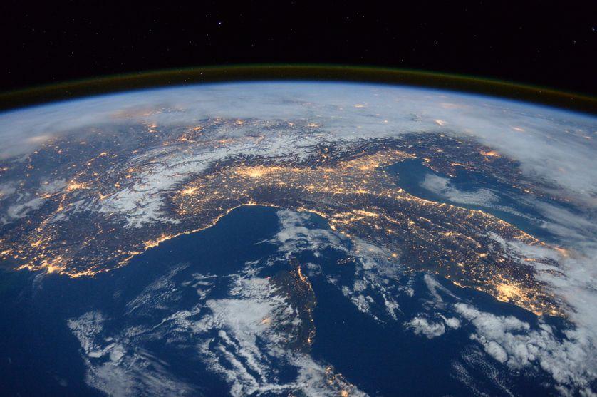 Photo de la Terre prise durant le vol Expedition 46