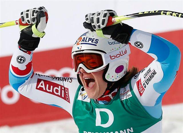marion rolland championne du monde de descente à schladming