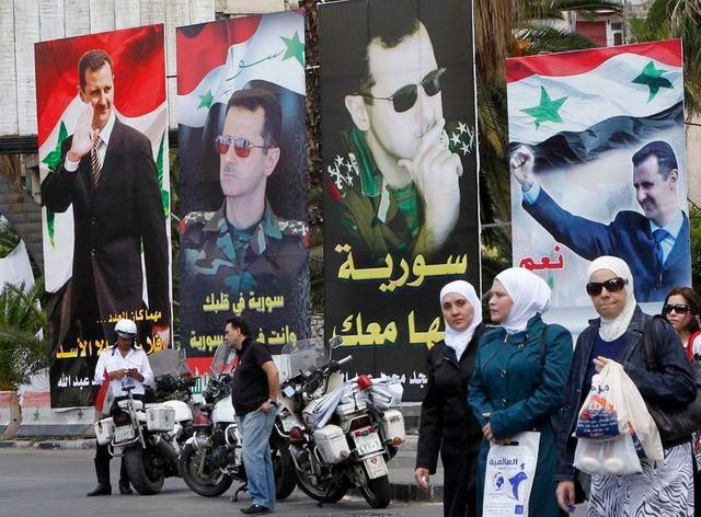 élection présidentielle en syrie