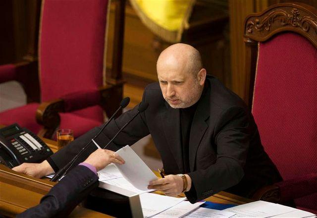 oleksander tourchinov, président intérimaire en ukraine