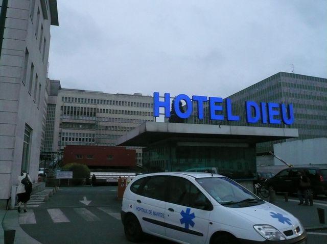 L'hôpital de la mère et de l'enfant à Nantes