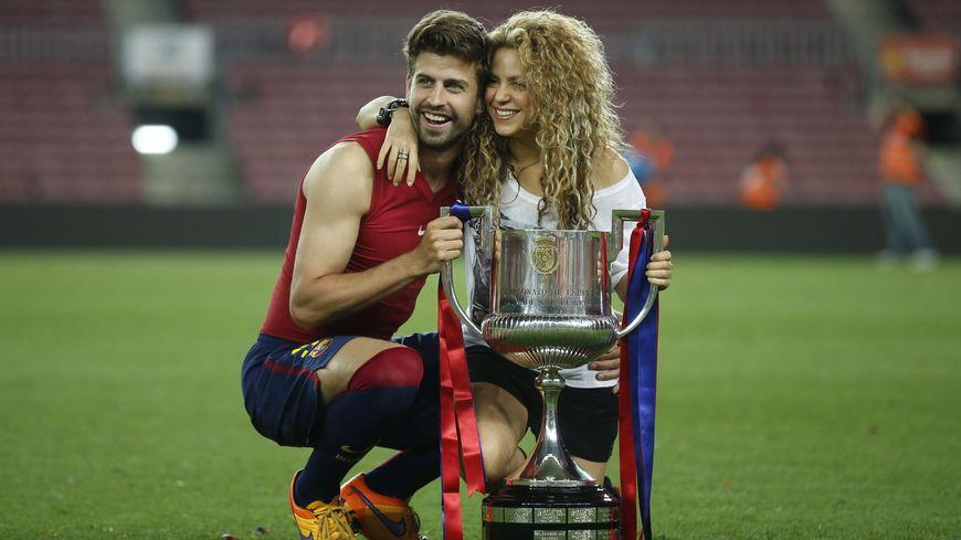 Gérard Pique et Shakira