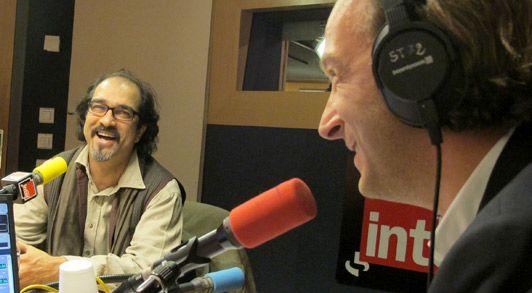 Atiq Rahimi et françois Busnel