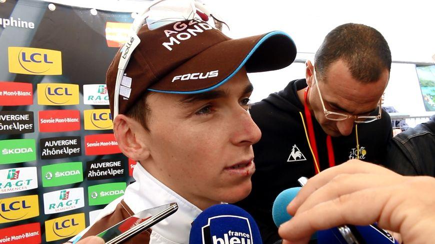 Romain Bardet, satisfait de son Critérium du Dauphiné 2016
