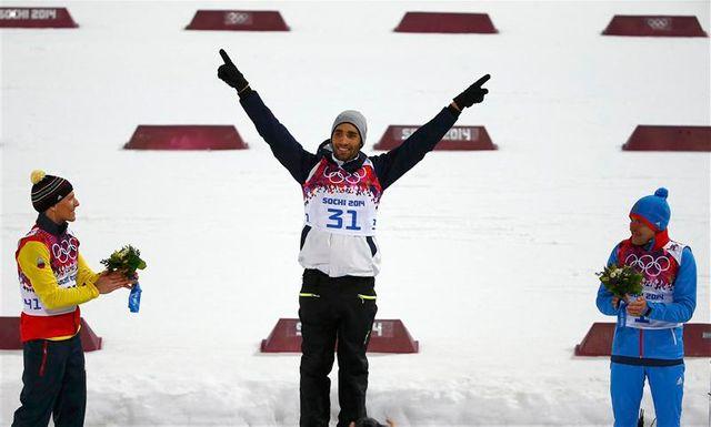 nouveau titre olympique pour martin fourcade en biathlon