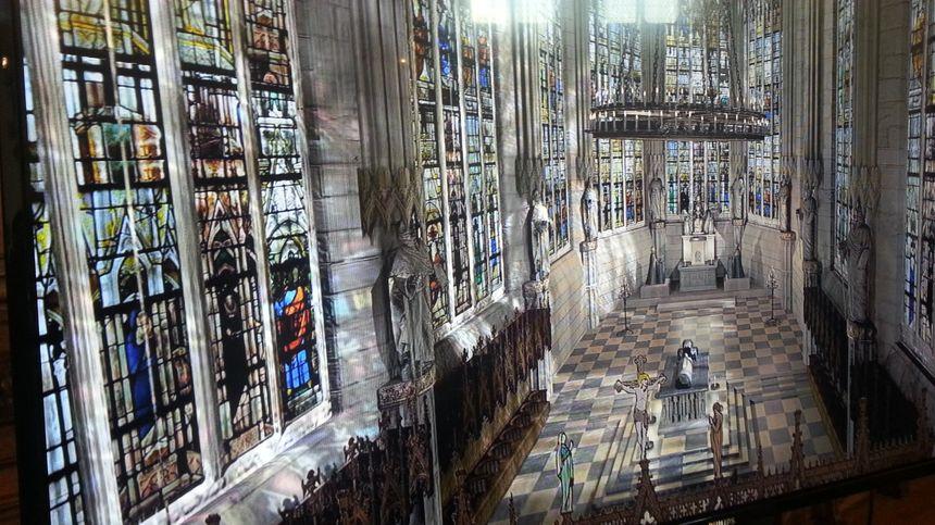 La sainte chapelle de Bourges et ses vitraux