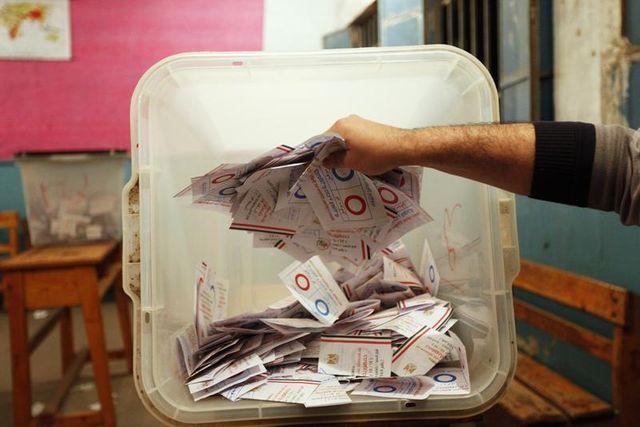 la constitution égyptienne appprouvée à 98,1%, taux de participation à 38,6%