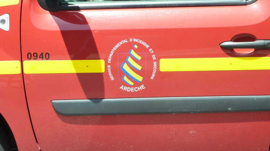 Des pompiers de Saint-Péray et du GRIMP sont intervenus - Photo d'illustration.