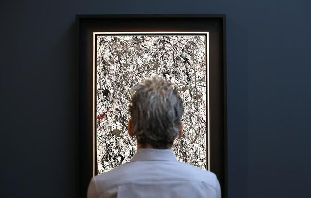 une vente aux enchères d'art contemporain bat de nouveaux records à new york